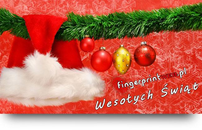 Wesołych Świąt życzy FingerprintWeb.pl